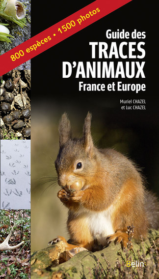 Guide des traces d'animaux – France et Europe -