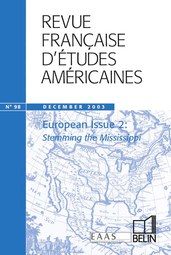 RFEA N°98 (2003-4) - European Issue 2 : stemming the Mississippi