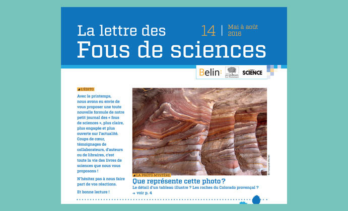 Page Sciences PCC - Fous de Sciences édito img
